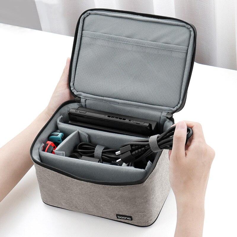 كابل حقائب التخزين الرقمية المحمولة متعددة الشبكة سماعة شاحن الأسلاك المنظم السفر Usb إلكترونيات الأدوات اكسسوارات العنصر