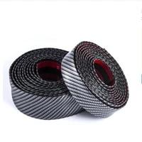 53m 3d carbon fiber car sticker diy paste protector strip auto door sill side mirror anti scratch tape waterproof protect film