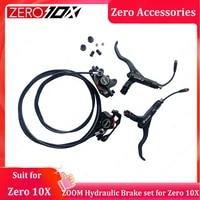 zero 10x zoom hydraulic brake set original spare parts for zerro 10x electric scooter