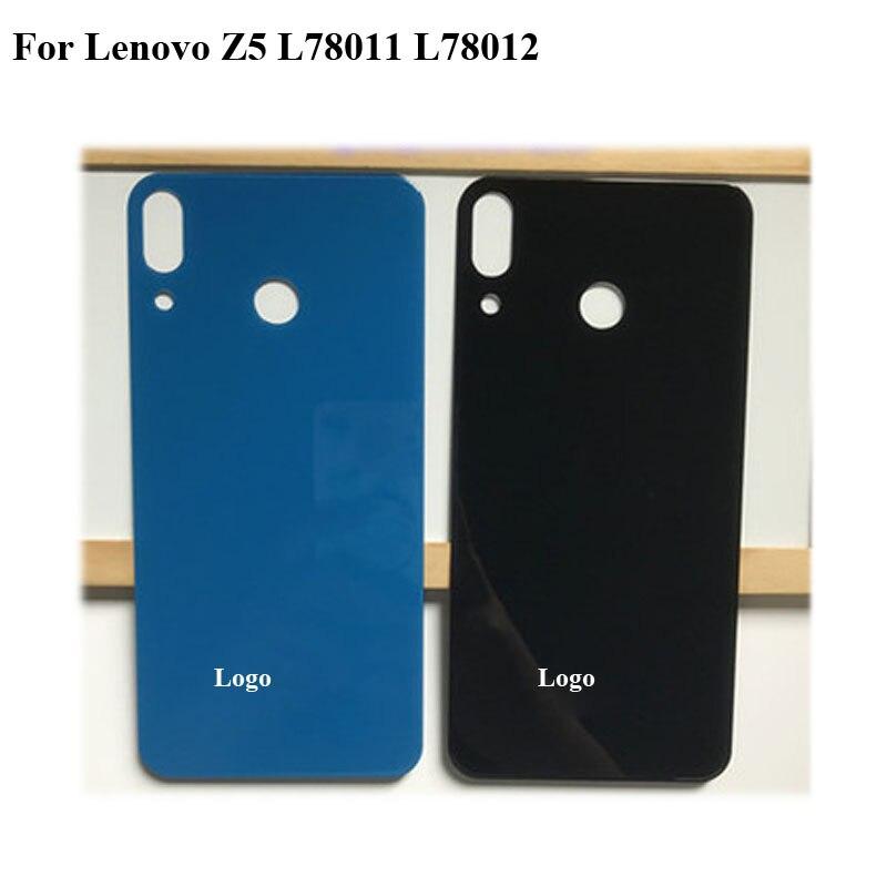 2 uds. Nuevo probado para Lenovo Z5 Z 5 cubierta de batería completa cubierta trasera carcasa de la puerta para Lenovo L78011 L78012 reemplazo