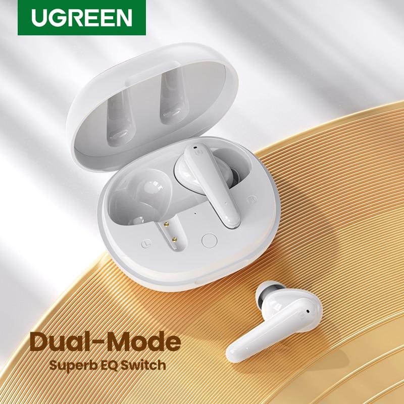 UGREEN HiTune T1 TWS صحيح اللاسلكية سماعات الأذن 4 ميكروفونات بلوتوث سماعات ENC ايفي ستيريو في الأذن باس يصل وضع USB-C السريع شحن