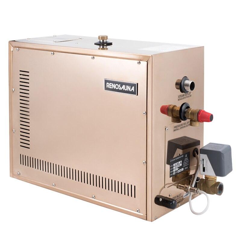 Livraison gratuite 3KW 380-415V 3 phases multi-fonctionnel générateur de vapeur pour Detox beauté
