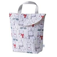 baby diaper bag portable fashion mother infant pouch newborn waterproof large capacity organizer reusable wet bag nursing bag