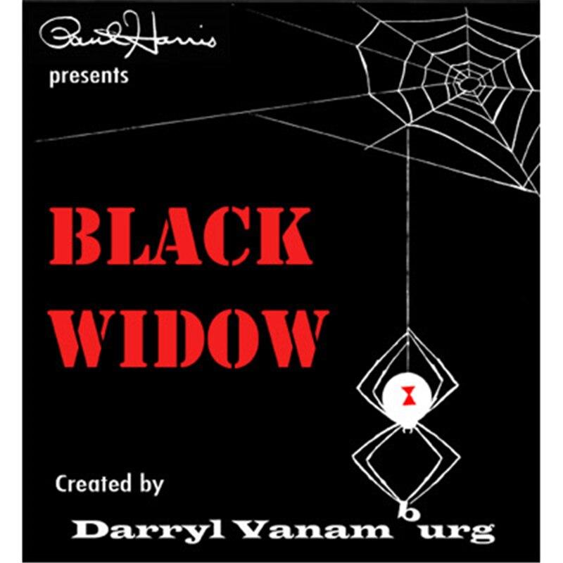 """Paul Harris """"viuda negra"""", """"(trucos y DVD) trucos de magia ilusiones magia en el escenario accesorios divertido espectáculo de magia accesorios comedia"""