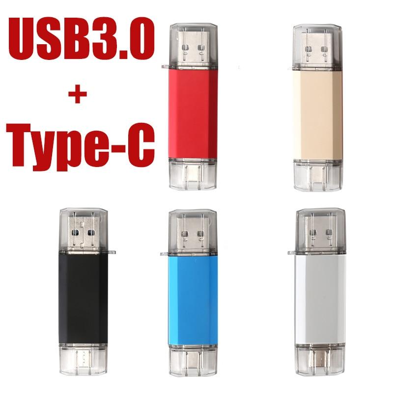 Unidad Flash USB tipo OTG C, 128 y memoria flash USB 3,0,...