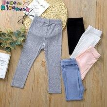 Bébé pantalon enfant en bas âge filles couleur unie Leggings pantalon enfants mignon 100% coton côtelé pantalon bas pour enfants filles Leggings