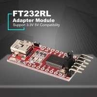 FT232RL Driver FTDI USB to TTL Serial Adapter Module for Arduino FT232 Mini Port Support 3.3V 5V Compatibility Download Line