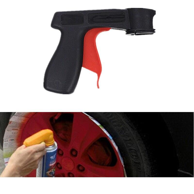 Инструмент для распыления краски автомобиля профессиональный аэрозольный пистолет адаптер рукоятки полный захват ручка триггер Аэрограф для краски ing автомобильная краска
