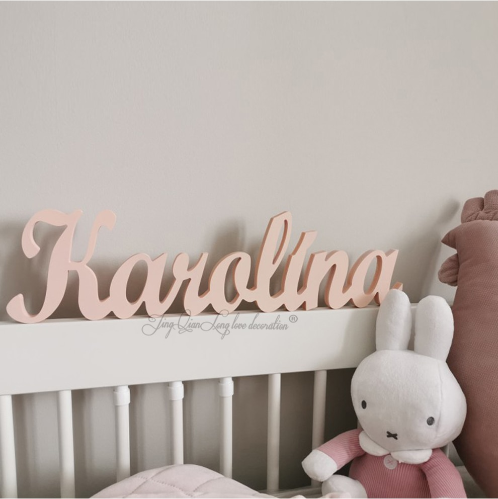 Деревянные именные знаки на заказ, детское имя, Настенный декор, деревянные буквы, деревянные имена, имена на стену, буквы на стену