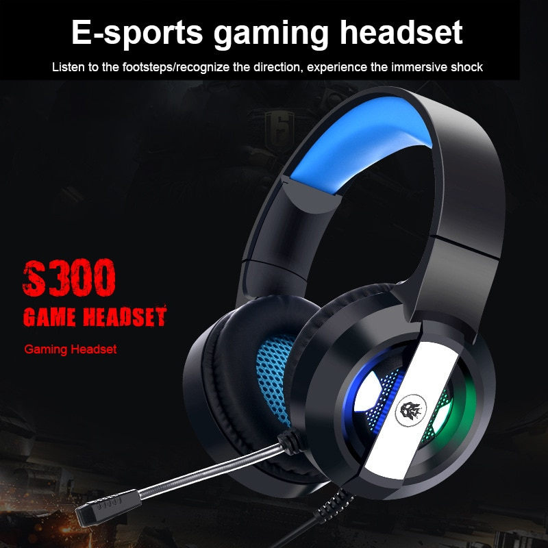 Deep Bass Gaming Earphone Headphone Waterproof Headset With 7.1 USB Channel Surround 360 Degree Rotation Microphone For Gamer