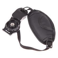 Alça de pulso do plutônio câmera aperto de mão para canon eos nikon sony olympus slr acessório da câmera para ajustável grandes alças de câmera acolchoada