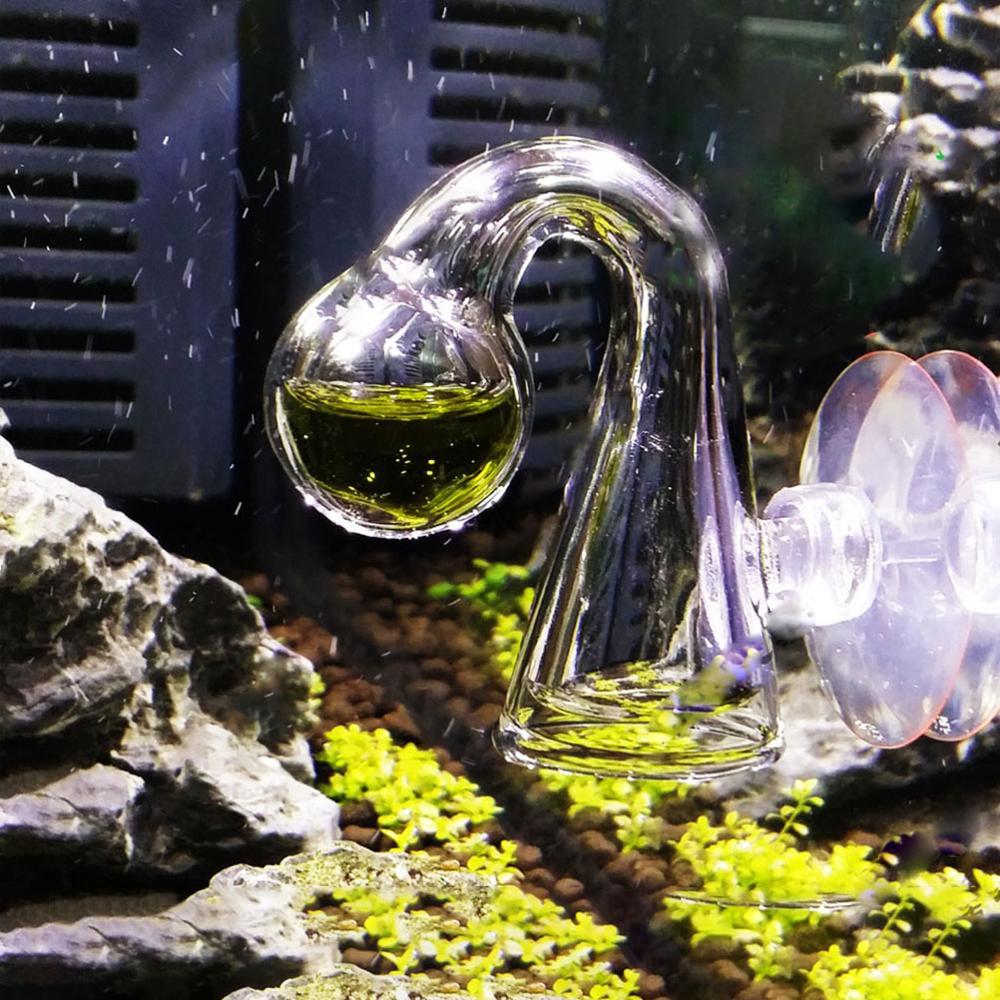 Ձկան բաք CO2 ցրիչ ապակու կաթիլի ստուգիչ - Ապրանքներ կենդանիների համար - Լուսանկար 5