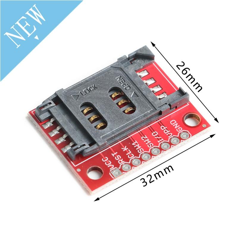 Módulo de tarjeta SIM toma de tarjetas SIM Adaptador de soporte de ruptura con cabezal Pin