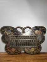 20 tibet buddhism temple old wood lacquerware abacus lion rolling hydrangea joe bookkeeping room abacus accounting abacus