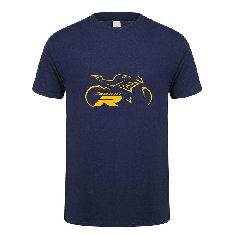 S1000R camiseta S 1000 R moto S1000 R camisetas de moda de manga corta de algodón o-cuello camiseta DS-018