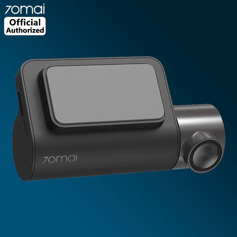 70mai cámara de salpicadero Mini cámara de inteligente para coche con DVR Wifi 1600P HD Visión Nocturna 140FOV cámara de coche videocámara aparcamiento Monitor g-sensor