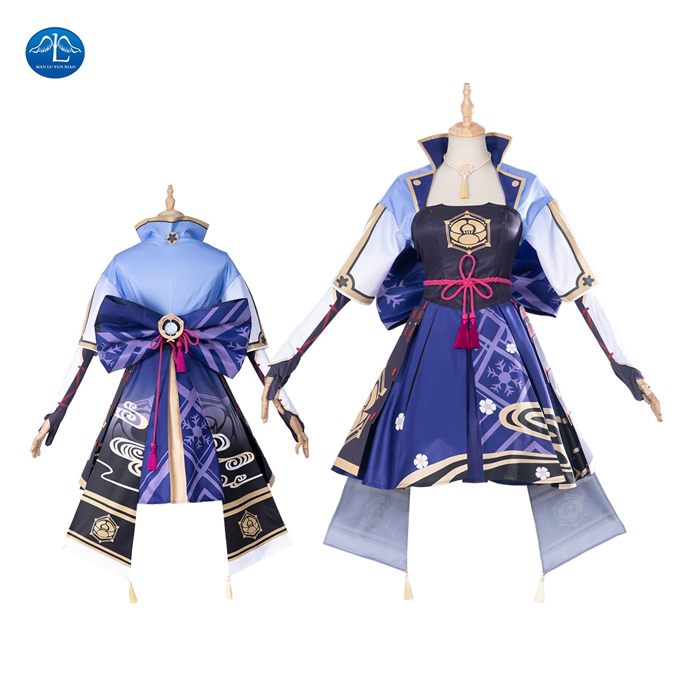 Game Cosplay Genshin Impact Ayaka Cosplay Costume Anime Women Sexy Halloween Outfit Fancy Dress Custom Made pocket monster cosplay costume pokemon go cosplay clothing male trainer team valor game anime outfit three color custom made
