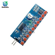 NE555 CD4017 NE555 controlador de placa de agua circuito de luz de flujo de agua LED módulo electrónico DIY Kit de conducción de luz