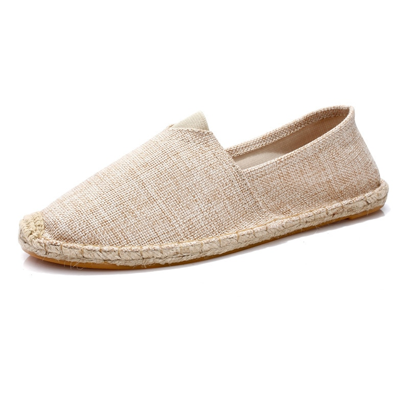 Women Shoes Ladies Slip on Loafers Zapatillas Mujer chaussure femme Casual Shoes Espadrilles Hemp Ca