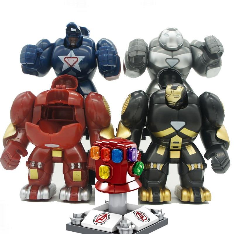 ML-K44 Iron Man Hulkbusters Model Figure Blocks Construction Building Bricks Toys For Children