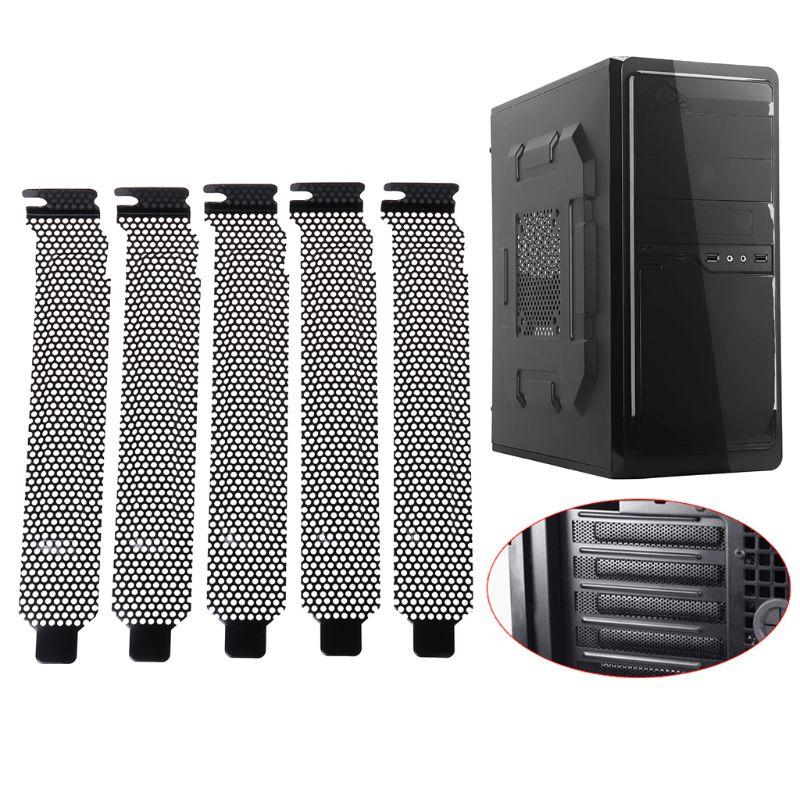 Deflector de ventilación para PC y ordenador, marco de cubierta de ranura...