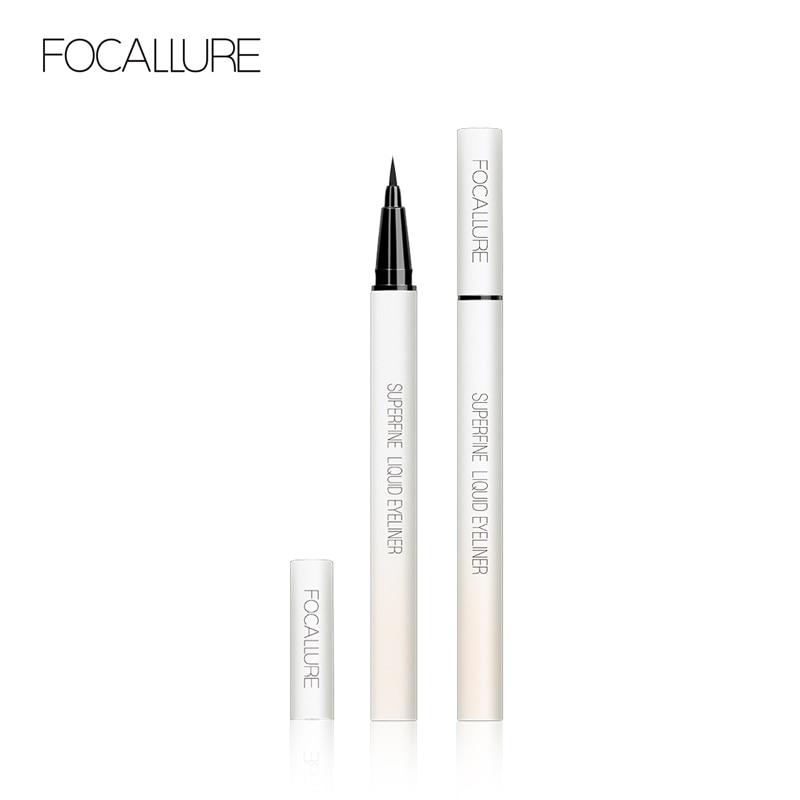 FOCALLURE Liquid Eyeliner Pencil Makeup Professional Black Waterproof Long Lasting Pen Cosmetics Tools