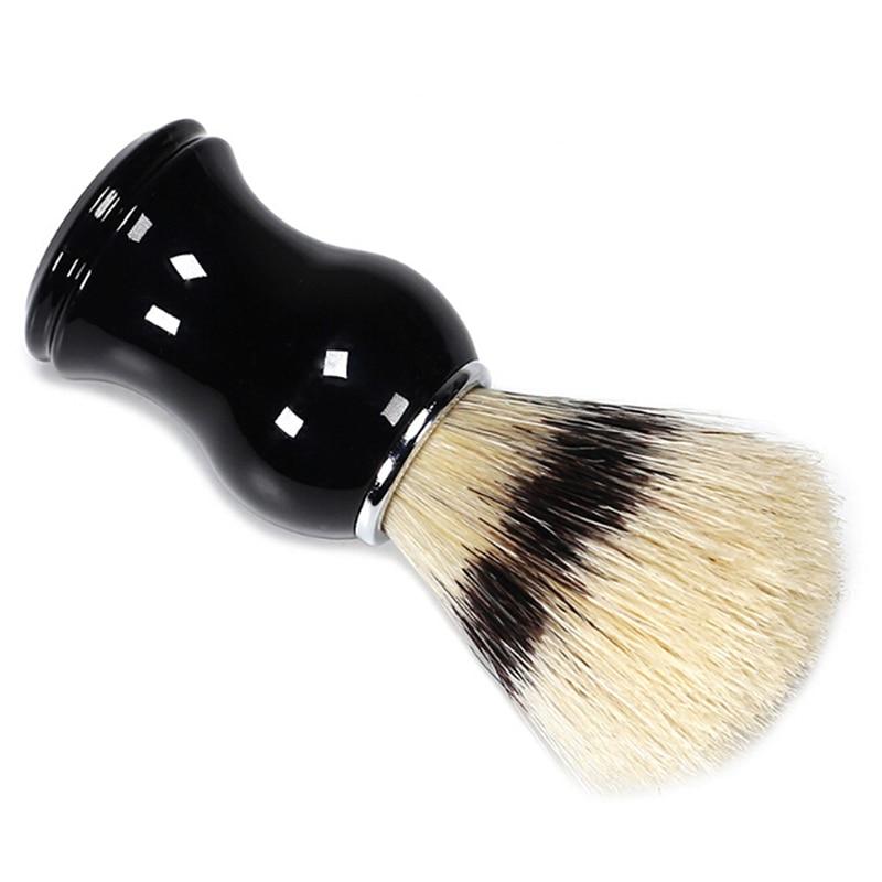 Мужской прибор для бритья бороды, инструмент для бритья, щетка для барсука, Мужская щетка для бритья, инструмент для чистки бороды