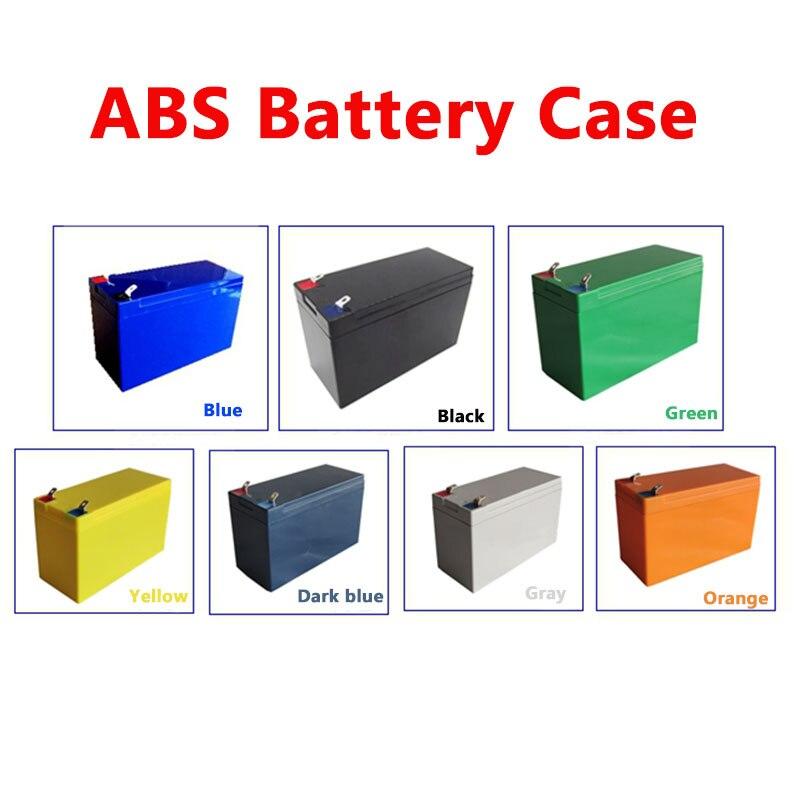 5 uds/lote 12V 7AH 8AH caja de batería rociador de energía batería estuche de plástico resistente al agua mantener 21-24 Uds 18650 células 32700 celdas