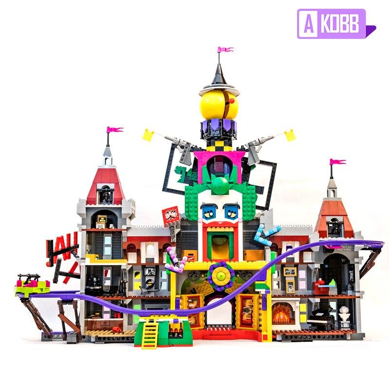 En Stock, creador de arquitectura, ciudad, calle, Parque Joker, modelo de bloques de construcción, ladrillos con 70922 bloques, juguetes, regalos para niños 07090