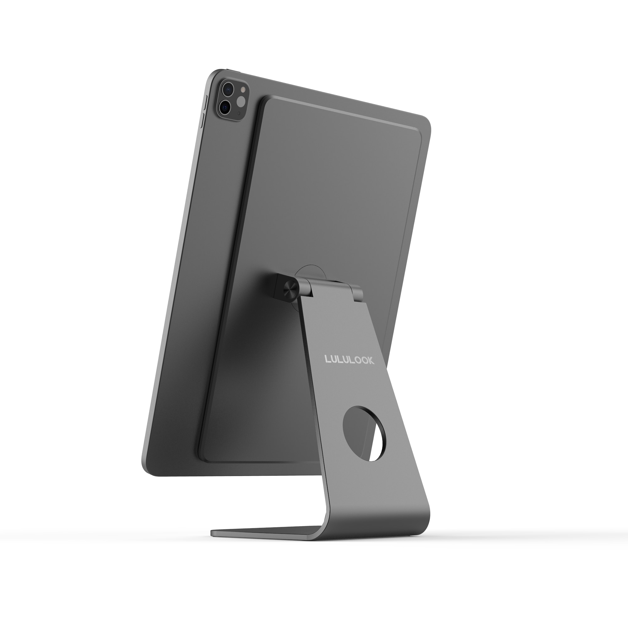 Lululook Magnetic Laptop Stand Aluminum Bracket For iPad Stand 360° Rotation Tablet Holder For iPad