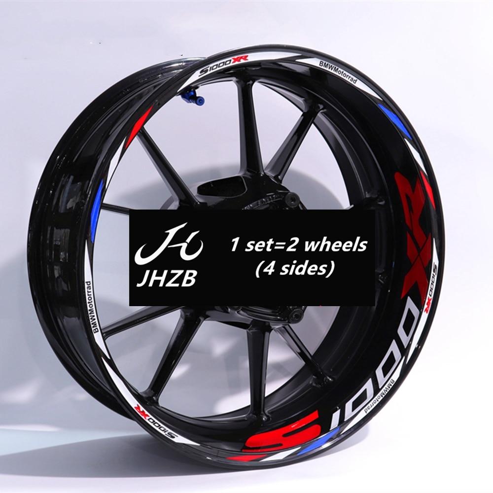 1000xr 1000r 1000rr Motorcycle Sticker for Reflective Motor Bike inner Rim Decal Waterproof Decoration Custom Inner Rim Whe