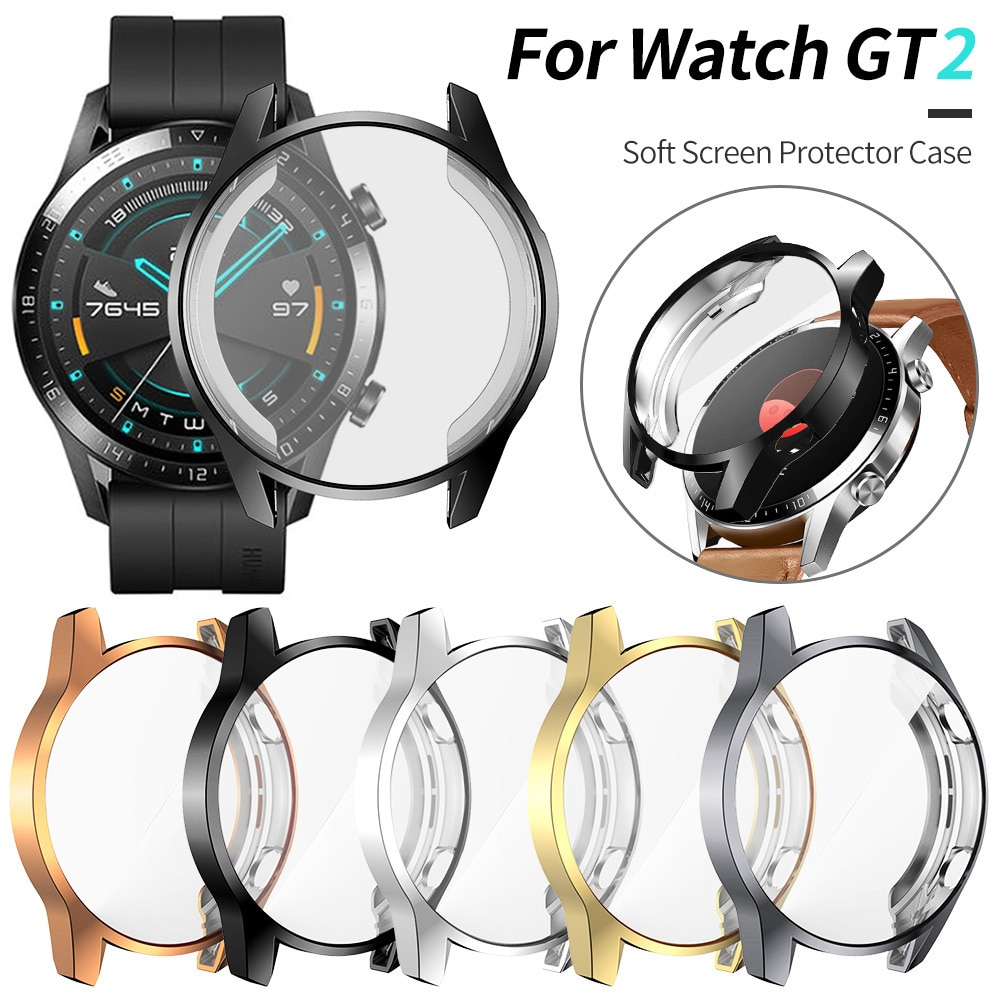 Screen Protector Cover for Huawei Watch GT 2 46mm 42mm 2e Case GT2 Pro Soft Tpu Scratch-resistant Sh