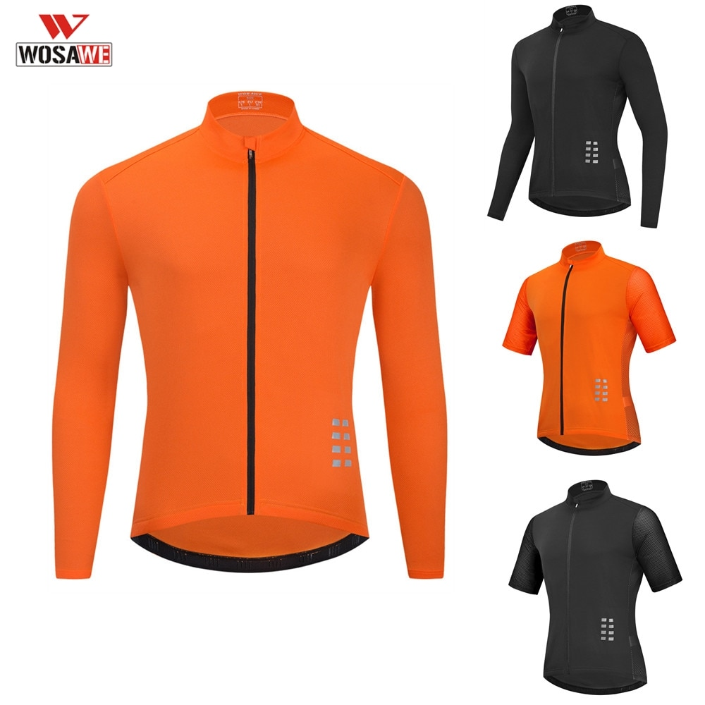 WOSAWE Pro Moto Jersey All mountain Bike Clothing MTB Bicycle T-shirt DH MX cycling shirts Offroad Cross motocross Wear enlarge