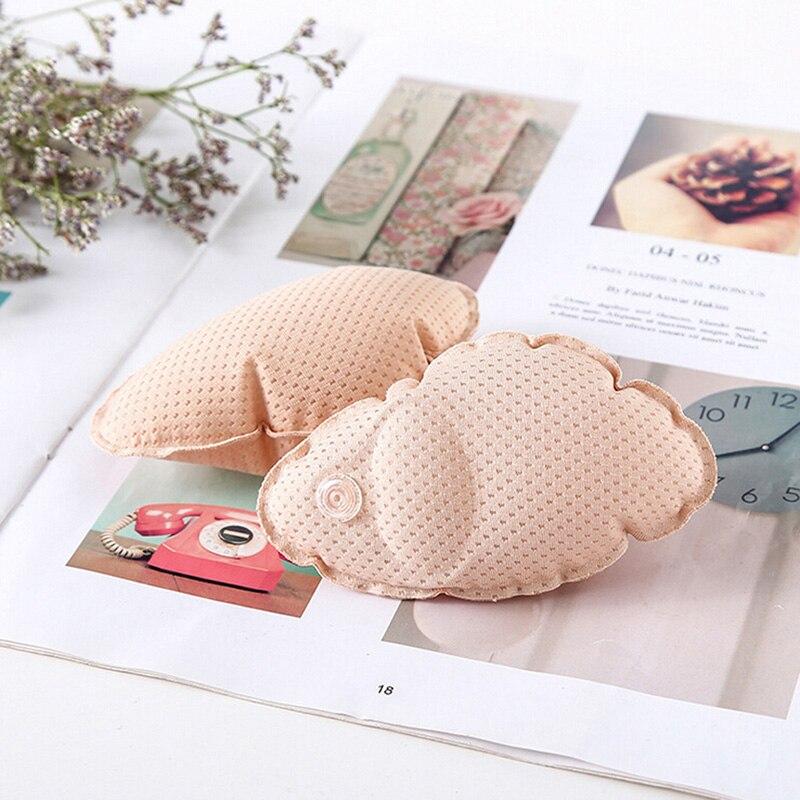 Ropa interior inserte Air Cushion 0 espuma Pushup Chest Pads accesorios traje de baño relleno insertos engrosamiento inflable Bra mama Pad