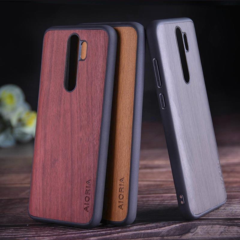 Чехол с изображением дерева для Xiaomi Redmi Note 8 pro, мягкий ТПУ, силикон, Жесткий ПК, дерево, искусственная кожа, чехлы