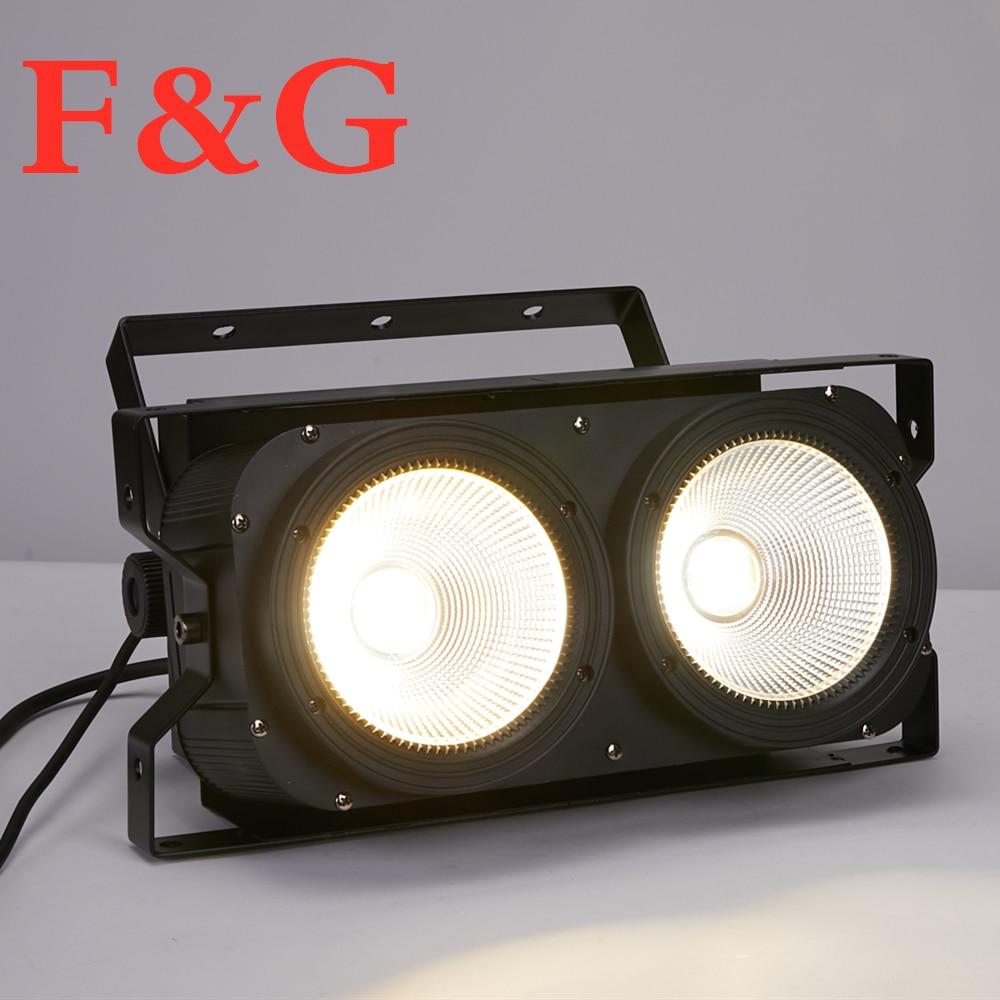 F & G200W مصباح موجه عالي الطاقة ، مصباح سطح ثنائي العينين ، 2x100w ، لإضاءة نادي DJ
