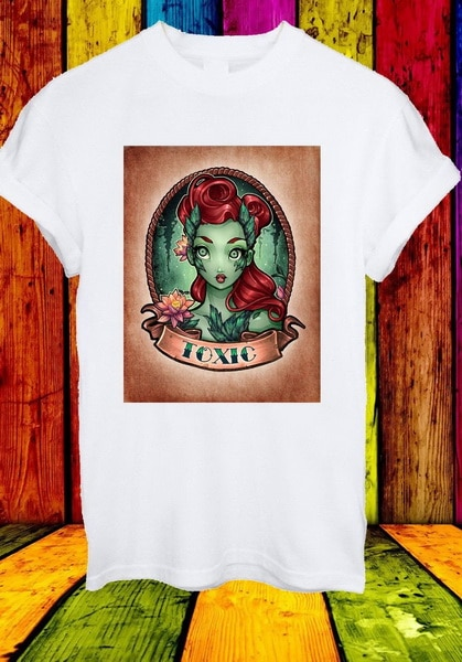 Veneno Ivy tóxicos Pamela Lillian Isley carácter hombres mujeres Unisex camiseta de verano 798 de o-Cuello remata camiseta