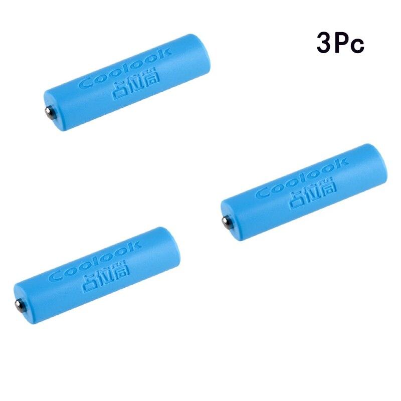 3 piezas 14500 AA tamaño ficticio batería falsa carcasa de la carcasa marcador de posición Conductor del cilindro