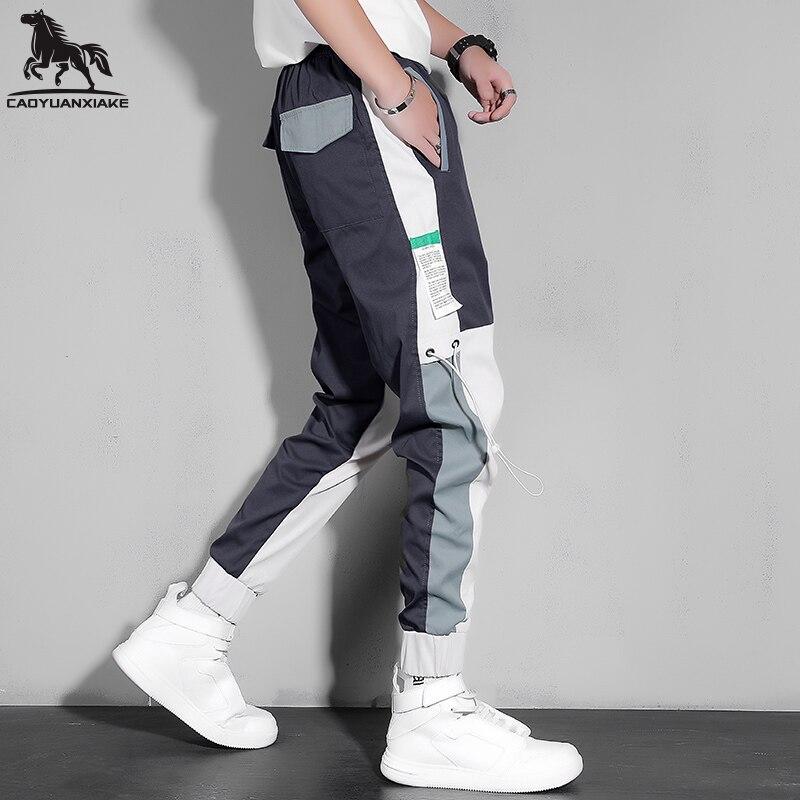 Streetwear Men Multi Pockets Cargo Harem Pants Hip Hop Casual Male Joggers Pants Joggers Trousers Fashion Harajuku Men Trousers streetwear cargo pants hip hop casual multi pockets harem pants male joggers trousers fashion harajuku trousers pants for men