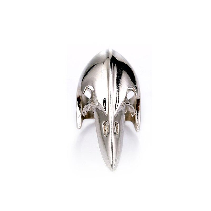 Al aire libre EDC Retro defensa cráneo anillo con máscara Punk populares anillo dominante casco bien anillo juguete deportes de bebé