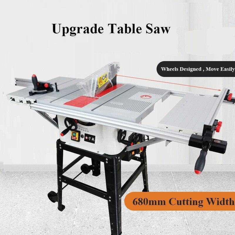 منشار طاولة خشبي منزلق دقيق 10 بوصة ، آلة منشار ميتري لأعمال النجارة