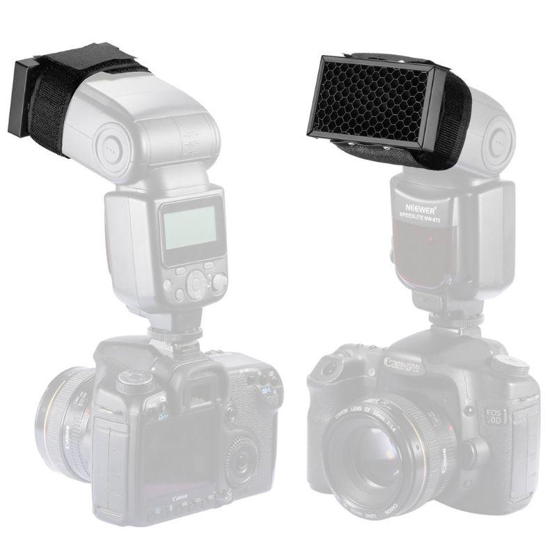 Honeycomb Honey Comb Grid Filter Flash Diffuser Softbox for Nikon Canon Camera 95AF