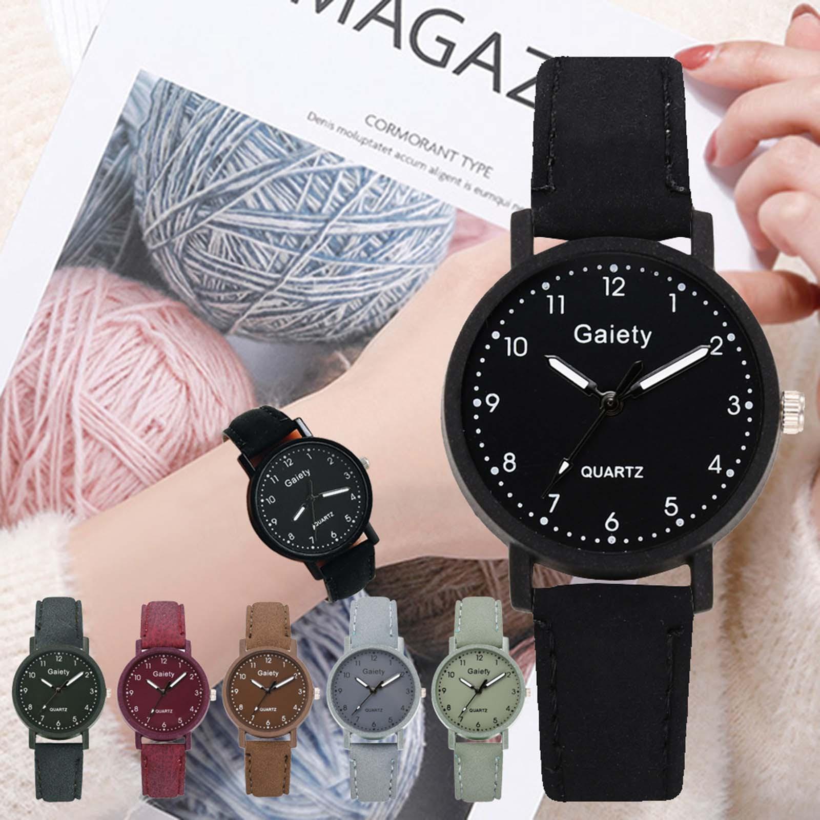 Smart Watch Gaiety Sleek Minimalist Fashion With Strap Dial Women's Quartz Watch Gift Watch  часы женские наручные часы наручные женские taya цвет черный t w 0065 watch gl black
