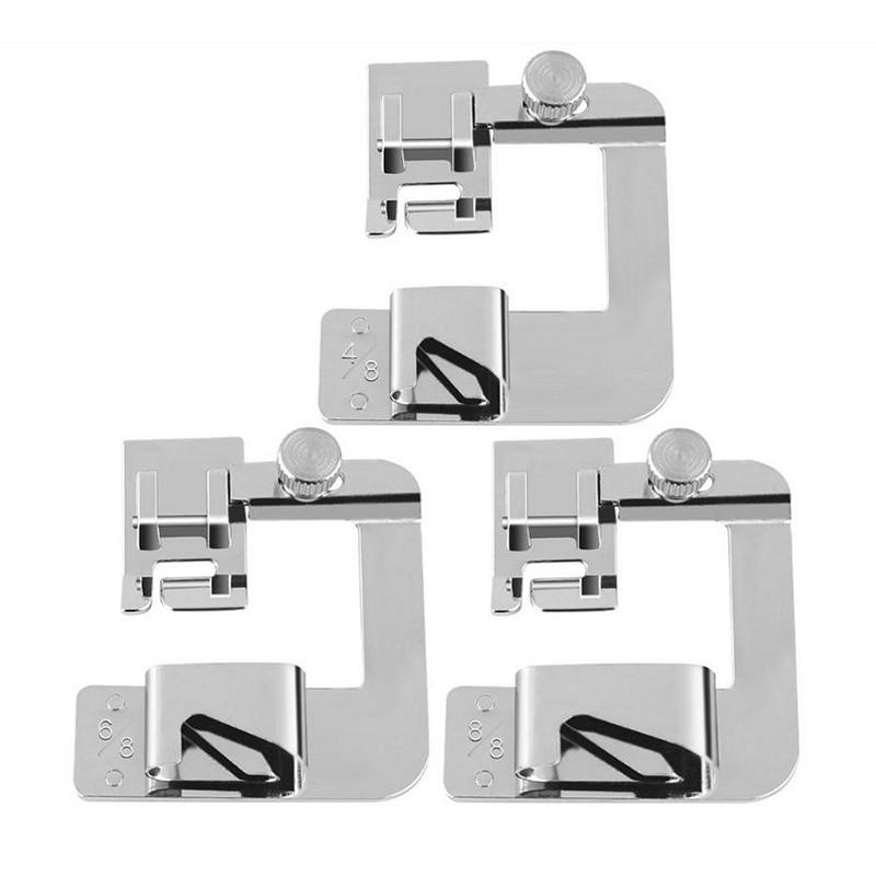 Prensatelas prensatelas para Máquina DE COSER doméstica de Brother Singer, accesorios de costura, 13, 19 o 25mm, 4/8, 8/8