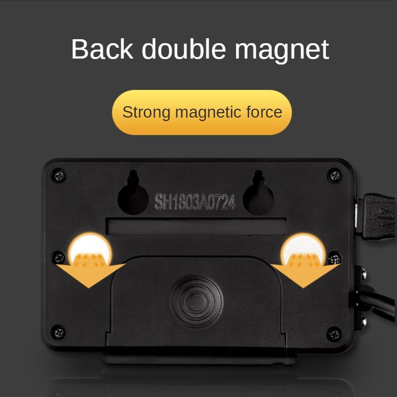 0.01mm resolution magnetic remote external display ruler digital linear reading ruler ruler tool digital reading enlarge