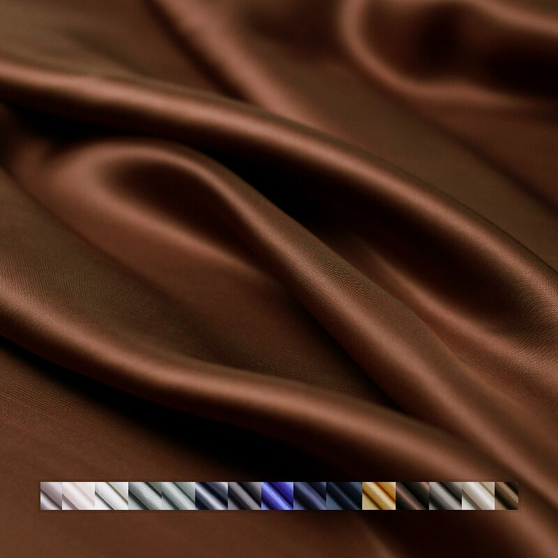 Bemberg cuprammonium 100% Materiales de algodón suave ropa de invierno de abrigo forro de ropa de alta calidad tejidos envío gratuito