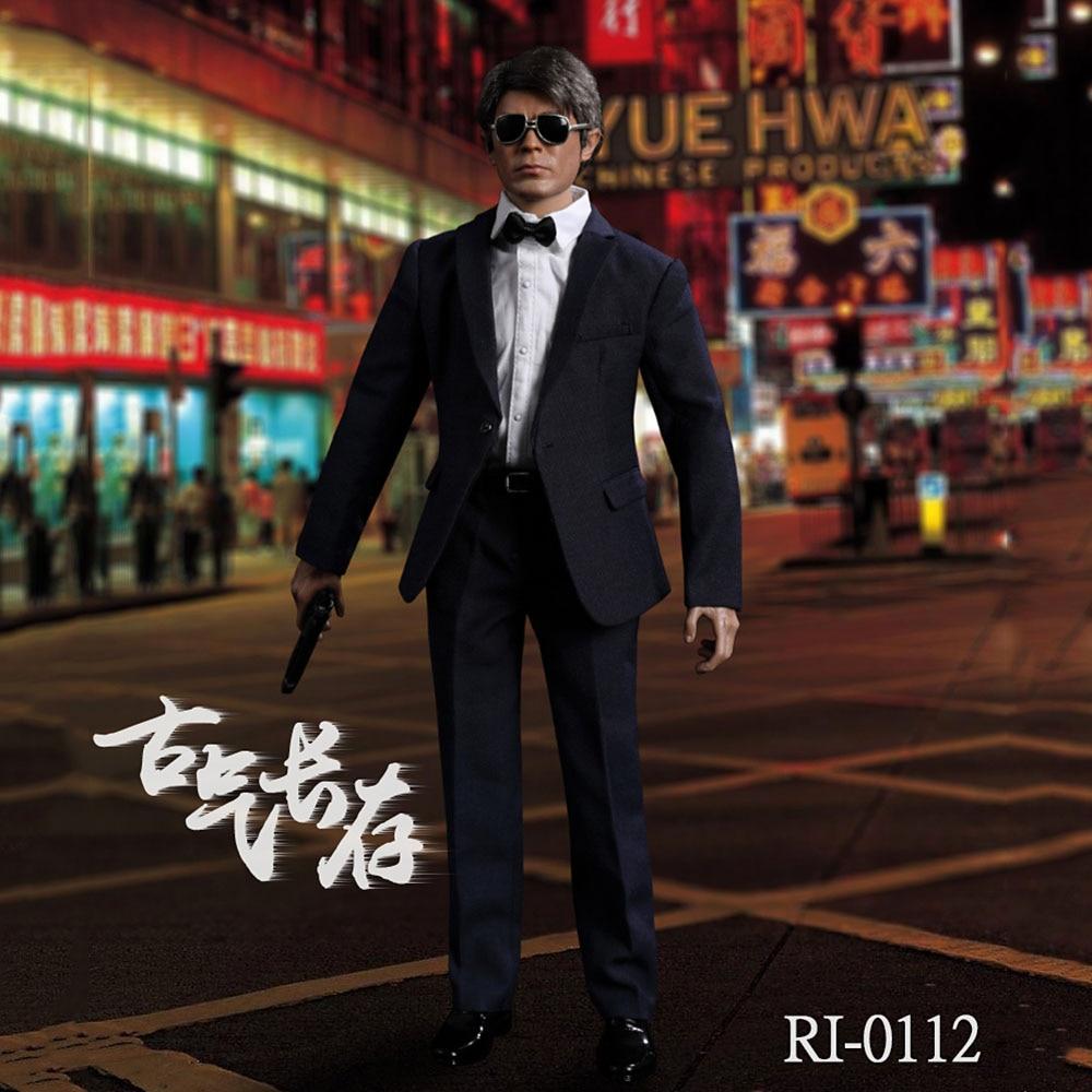 RL-0112 juguetes reales 1/6 escala completa Louis Koo Tin Lok Gu Tianle película Actor MODELO DE figura de acción para Fans regalos coleccionables