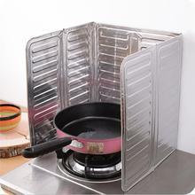 Panneau anti-projection dhuile de cuisson   Feuille daluminium, protection contre les éclaboussures dhuile de cuisson, protection contre les éclaboussures dhuile de gaz, panneau anti-brûlure outils de cuisine