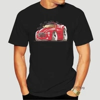 chevrolet chevy ssr red rare model koolart car cartoon art white t shirt anime shirt new arrival 2021 shirts for men