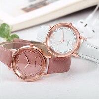 Часы наручные женские кварцевые с кожаным ремешком, люксовые Брендовые повседневные аналоговые, подарок для девушек